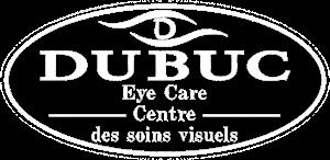 White Dubuc Eye Care Logo